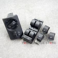 5x Scheinwerfer Fensterheberschalter Fenster Schalter für AUDI A6 S6 C5 Allroad