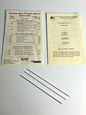 Almore Jiffy Tatting Needle Set of 3 with Instructions ~ #79802