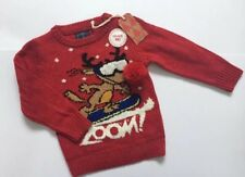 New NEXT Christmas Reindeer Jumper With Lights Effect Age 4 Years 3-4 Years