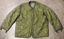 Excellent Field Jacket Parka Liner U.S. Military M-65 Size Medium Quilted Army