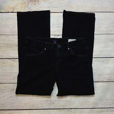 Tommy Hilfiger American Freedom Jeans Size 12 Womens Boot Cut Black Denim