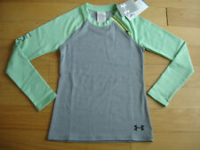 Under Armour New Girls Long sleeve Size Small 7/8 Cold Gear Sweater Jacket Shirt