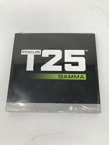 Focus T25 Gamma 4 DVD Workout Set - Brand New Sealed In Original Packaging