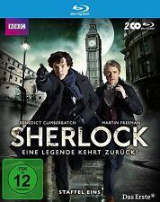 2 Blu-rays * SHERLOCK - SEASON / STAFFEL 1 # NEU OVP WVG