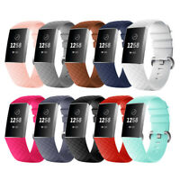 Smart Watch Sports Band Replacement Wristbands Strap Bracelet for Fitbit Charge3