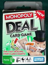 2008 Monopoly Deal Card Game - 100% Complete - VGC