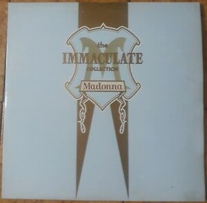 MADONNA THE IMMACULATE COLLECTION 33 GIRI 2 LP 1990