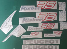 Peugeot Kisbee RS Decals/Stickers ALL COLOURS AVAILABLE
