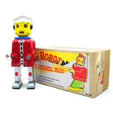 MS645 Rosso il cervello meccanico Robot fatti a mano il signor FERRO Robot metallo TOYS VINTAGE R
