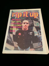RIP IT UP MAGAZINE NEW ZEALAND ANTHRAX SONIC YOUTH STEVE EARLE DAVE STEWART 1990