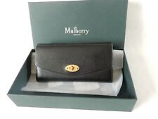 Mulberry Darley Grain Leather Purse Wallet Black