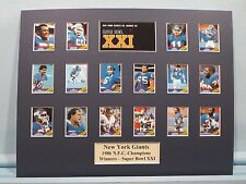 New York Giants led by Phil Simms - 1986 NFC Champs & winners of Super Bowl XXI