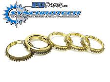 Synchrotech 1st-5th Brass Synchro Set Fits Honda Prelude VTEC H22 H22A2 H22A4