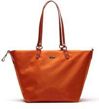 LACOSTE Borsa Shopping  NF1245CZ Large Carryall Bag Woman Orange