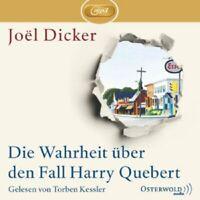 TORBEN KESSLER - J.DICKER: DIE WAHRHEIT ÜBER DEN FALL HARRY QÜBERT;3 MP3-CD NEU