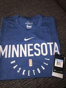 wnba Minnesota Tee Shirt. Nike Dri Fit. Men's Large