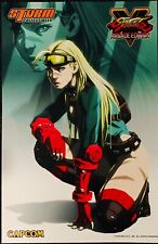 2019 SDCC Comic-Con STREET FIGHTER V: Arcade Edition POSTER - CAMMY WHITE