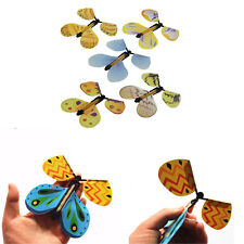 1pc Funny Magic Trick Prop Toy Flying Cocoon Change to Butterfly Kid Chirl Gift