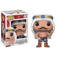 "WWE Hierro SHEIK 3.75"" Pop Vinyl Figura Funko NUEVO 43 Vendedor GB"
