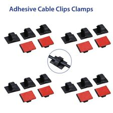 Wire Tie Cable Clamp Clip Holder For Car Dash Camera Self-Adhesive 20pcs