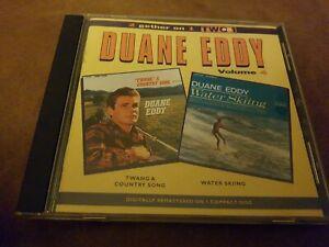 DUANE EDDY <  2 Gether On 1 - Volume 4 - Twang Country / Water Sking  > NM (CD)