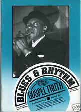 MAGAZINE BLUES & RHYTHM GOSPEL TRUTH No 52 MAY JUNE 1990 SONNY BOY WILLIAMSON