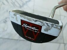 """New listing USED TaylorMade Golf SPIDER MALLET 72 PUTTER 33"""" RH Steel new grip Pure Roll BIN"""