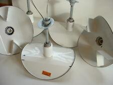 (1)  VTG Westinghouse Porcelain Enamel AISLE Light Pendant Industrial White