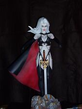 Lady Death resin model kit unpainted sculpt by Spangler 1/4 scale