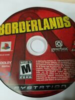 Borderlands - PlayStation 3 PS3 - Disc Only - Tested - Fast Free Ship!