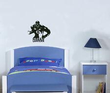 GREEN LANTERN JOHN STEWART Infantil Adhesivo para dormitorio pared imagen