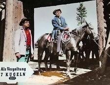 Kirk Douglas ALS VERGELTUNG 7 KUGELN original Kino Aushangfotos 18 Motive