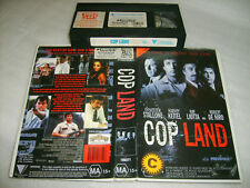 Vhs *COP LAND* Rare 1997 Roadshow Issue - Stallone / DiNiro - Action Thriller D3