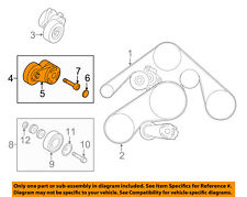 Infiniti NISSAN OEM 11-13 M56-Serpentine Drive Fan Belt Tensioner 119551CA1A