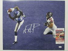 Anthony Harris Signed / Autograph 16x20 Photo Minnesota Vikings JSA Smudge