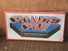 1974 Koplow games Organized Crime complete Unused Sealed