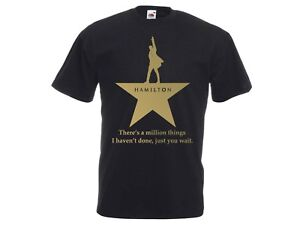 Hamilton An American Musical Kids & Adult T-Shirt, Broadway, Silver, Gold, LGBT