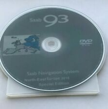 SAAB DVD Navigation System North East EUROPE 2018
