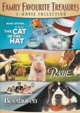 Cat In The Hat/ Beethoven/ Babe 3 Movie collection DVD (2-Disc Set)
