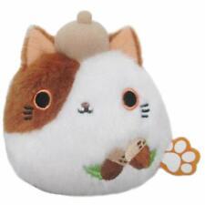 Sanei Boeki Hana Flower Neko Dango Acorn Cat Plush Doll Japan
