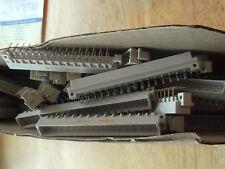 0903-132-6921 HARTING - QTY 38 - DIN 41612 M 32 POS 5.08mm Solder RA  NEW