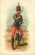 More details for military art 11th prince albert's own hussars by harry payne in tuck series 6088