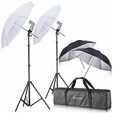 Neewer dell'apparecchio fotografico doppio flash lampeggiatore Shoe Mount girevole Ombrello SOFT KIT.