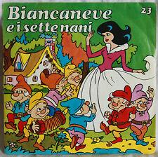 BIANCANEVE E I SETTE NANI - VINILE 45 GIRI