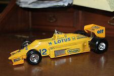 """Modello Formula f1 auto da corsa Lotus 97 T 97t/HONDA """"CAMEL/ELF"""" 1/24"""