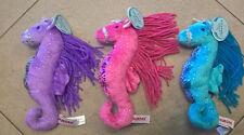 "Seahorse Plush Aurora 8"""