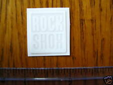 ROCK SHOX Mountain Bike Bikes Fork Shox F STICKER DECAL