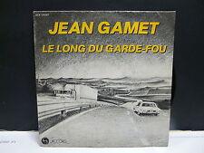 JEAN GAMET Le long du garde fou ACX 135087