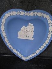 Wedgwood Blue Jasperware Heart Dish Coriolanus Theme