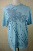 Super, schönes ESPRIT Shirt, Hemd Baumwolle türkise mit Print  Gr. M  Neuwertig